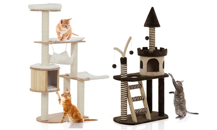 Cat Scratcher Condo Groupon Goods
