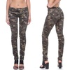 VIP Juniors' Camouflage Moto Skinny Jeans