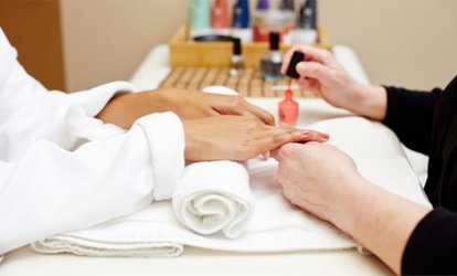 image for Spa <strong>Manicures</strong> and Spa Pedicures at ProfessioNAILS & SPA (Up to 54% Off)