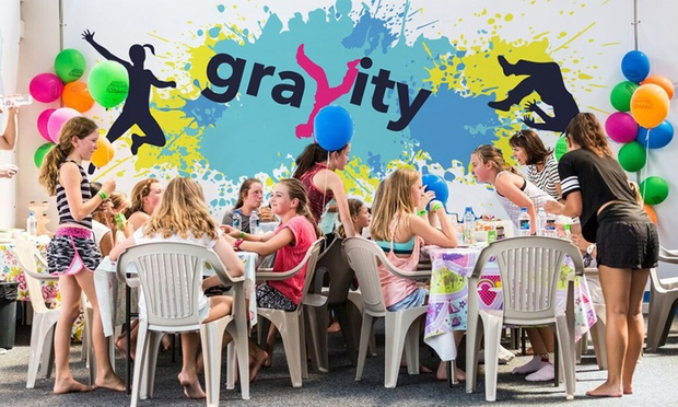 gravity trampoline park in