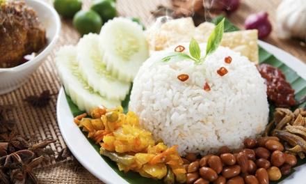 Uitgebreide rijsttafel voor 24 pers. bij Restaurant Sayang Den Haag