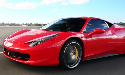 Ferrari or Lamborghini Autocross Experience from Experience Supercars (Up to 86% Off). Six Options Available.