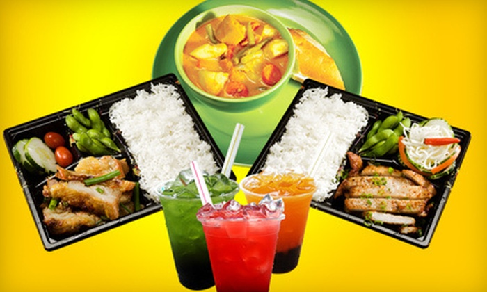 Eggroll Cafe - Warwick: $10 for $20 Worth of Asian Fusion Food at Eggroll Cafe