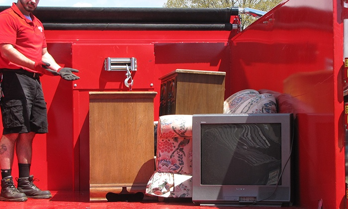 Junk King of Fairfax - Washington DC: Junk Removal for Up 1/6 of a Truck Worth of Junk or for One Item from Junk King of Fairfax (Up to 42% Off)