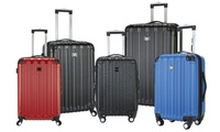 Travelers Club Madison Expandable Hardside Spinner Luggage Set (3-Piece)