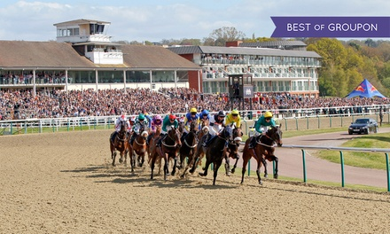 Good Friday Racing at Lingfield Park, Two Premier Adult Tickets and Race Day Programme, 19 April