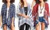 Women's Kimono or Poncho Robe: Women's Kimono or Poncho Robe