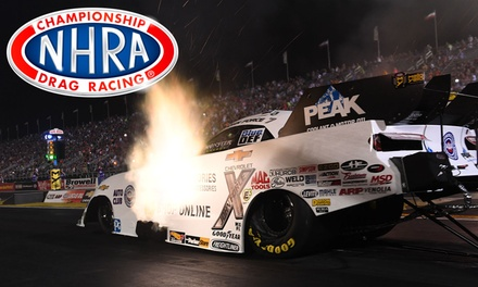 65th Annual NHRA Chevrolet Performance U.S. Nationals on Friday, August 30, at 9 a.m.
