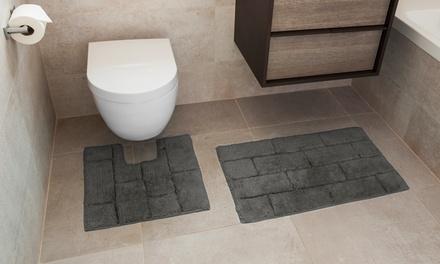 Soft-Touch Two-Piece 100% Cotton Bath Set