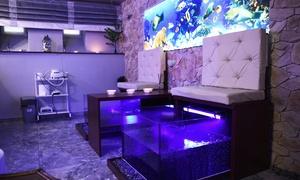Las Palmas: Zabieg fish pedicure (od 29,99 zł) z masażem stóp (od 44,99 zł) w salonie Las Palmas (do -50%)