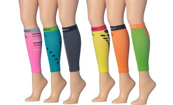 Unisex Graduated Calf Compression Sleeves (3-Pack)