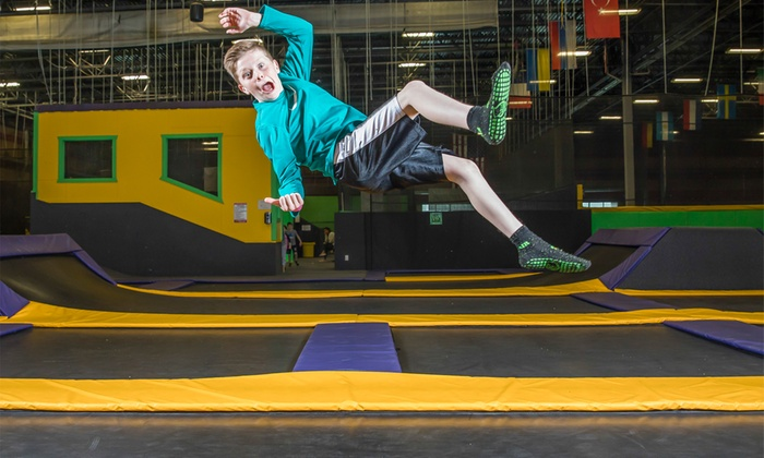 Jump Passes Or Party At Get Air (Up To 41% Off). Five Options Available.