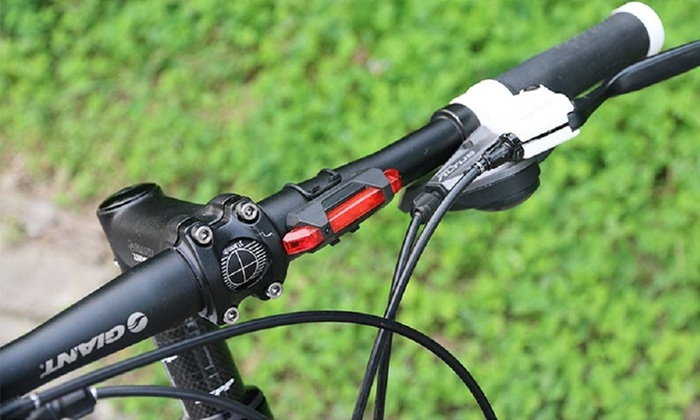 Rechargeable Bike Tail Lights (2-Pack)