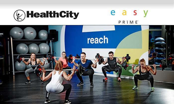 HealthCity e Easy Prime - Un mese di abbonamento open valido in tutte le sedi di Italia Acquista entro il 30 maggio