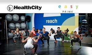 HealthCity e Easy Prime - Un mese di abbonamento open valido in tutte le sedi di Italia (sconto fino a 90%)