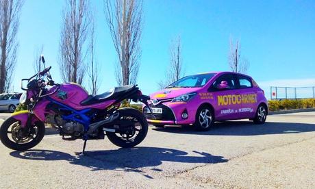 Curso para carnet de moto A2 con 6 u 8 prácticas en Autoescuela Q5 (Motocarnet) (hasta 93% de descuento)