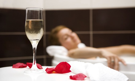 Spa Day with Chocolate Afternoon Tea and Prosecco for Two or Four at The Hilton Northampton Hotel (Up to 53% Off)