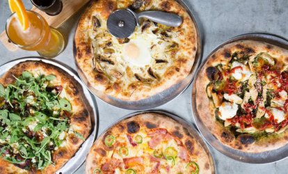 image for Two vouchers for Wood Fire Cooking, Each Worth $15 Community Pizza House, 33% Off