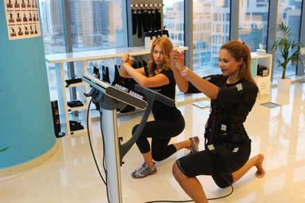 One or Three Sessions of Electrical Muscle Stimulation at BodyTime EMS Fitness