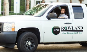 Rowland Pest Management: $60 for $120 Worth of Services — Rowland Pest Management, Inc.