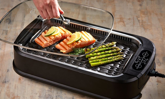 Up To 31% Off on Smokeless Indoor Electric Grill | Groupon Goods