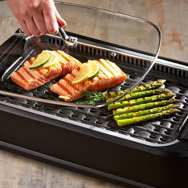 Power Smokeless Indoor Electric Grill