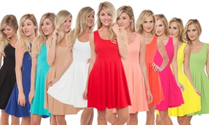 Women's Fit and Flare Dress at Women's Fit and Flare Dress, plus 9.0% Cash Back from Ebates.