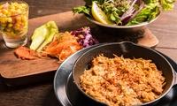 【 35%OFF 】六本木7丁目の「隠れ家ダイニング」が初登場。ヘルシーな野菜料理が大人気 ≪ 鴨肉とスモークした茄子ピュレのクリスピー...