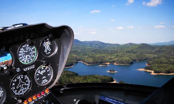 Blue Ridge Georgia Tours - Blue Ridge: $249 for One-Hour Blue Ridge Helicopter Tour for Two from Blue Ridge Georgia Tours ($500 Value)