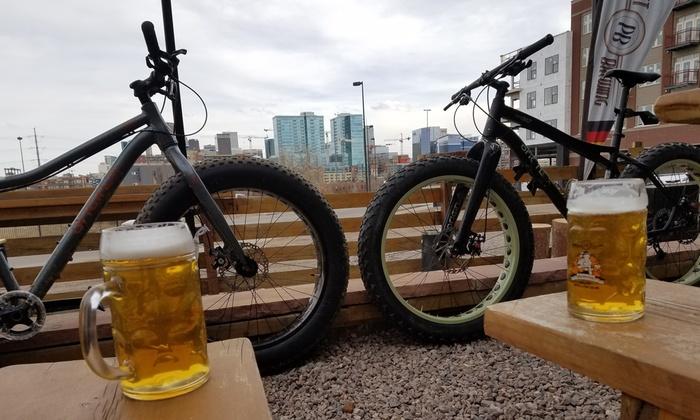 Denver Cycling Adventures Brewery Tour