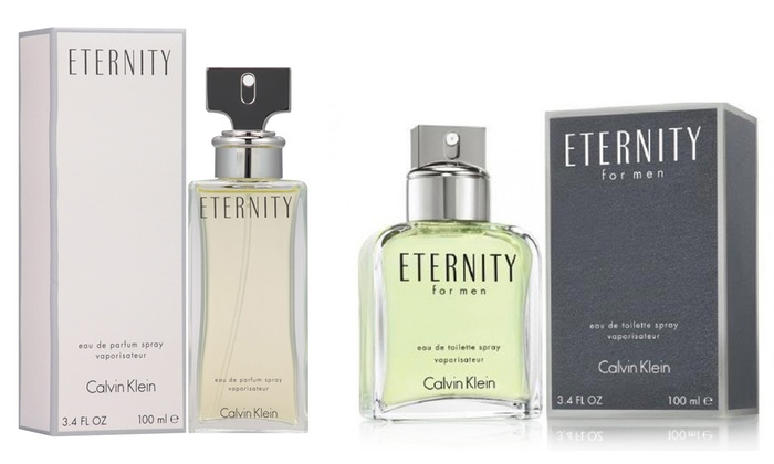 Calvin Klein Eternity for Women or Men (3.4 Fl. Oz.)
