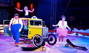 Flying High @ Circus Gerbola: Circus Gerbola: Ticket to Flying High, 31 May - 6 June at Blanchardstown (Up to 56% Off)