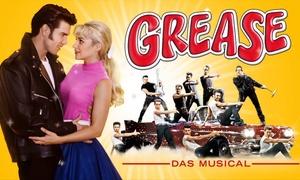 """Music Circus: Das Erfolgsmusical """"Grease"""" am 05. und 06. April 2018in der Porsche Arena Stuttgart (bis zu 40% sparen)"""