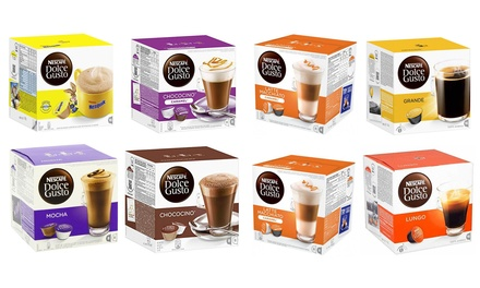 Four Assorted Dolce Gusto Blends, 64 Pods