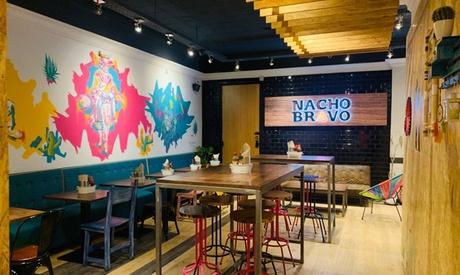 Menú degustación premium para 2 o 4 con platos, postre y bebida en Nacho Bravo Cantina (hasta 56% de descuento)