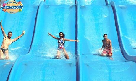1, 3 o 5 entradas de un día al parque acuático Aquópolis Sevilla desde 14,90 €