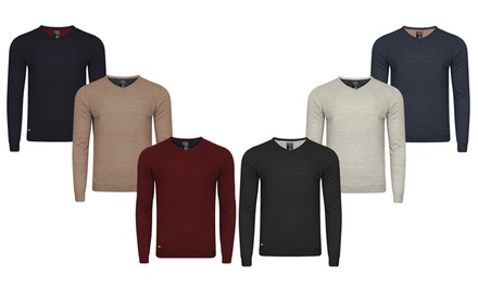 Kensington Eastside VNeck Men's Jumper for £7.99