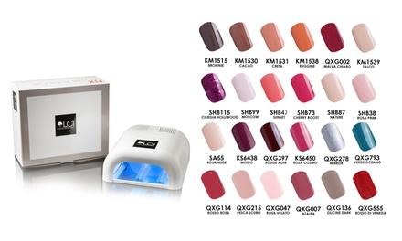 Smalti e lampada UV LCI Cosmetics