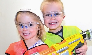 Battle Zone Arena: Two Hours of Soft Dart Play for Two, Four, or Six, or Party for Up to 12 at Battle Zone Arena (Up to 57% Off)