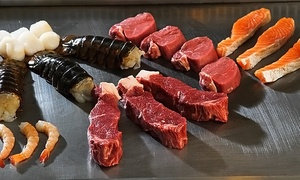 Kampai Japanese Steak House: Hibachi-Style Steak and Seafood at Kampai Japanese Steak House (48% Off). Four Options Available.