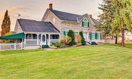groupon daily deal - 2-Night Stay for Two with Wine or Couples Package at The Waring House in Prince Edward, Ontario