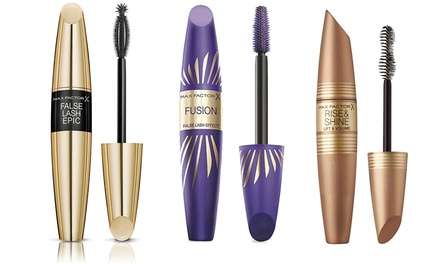 Max Factor ThreePiece Mascara Set