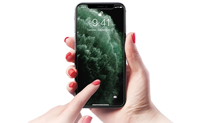 Tempered Glass Screen Protector for iPhone 11, 11 Pro, or 11 Pro Max