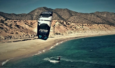 Five-Hour Introductory Kitesurfing Lesson for One or Two from Kiteboarding Experience (Up to 25% Off)