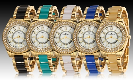 Tavan Careen Collection Women's Watches. Multiple Colors Available. Free Returns.