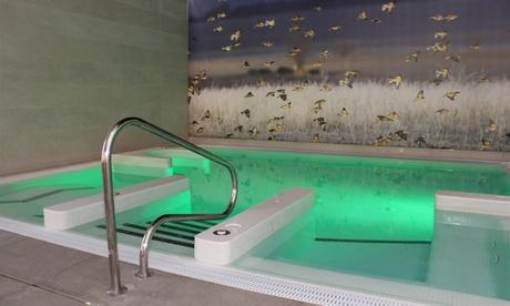 Circuito spa de 60 minutos para 2 con opción a tratamiento o menú desde 19,95 € en Los Condestables