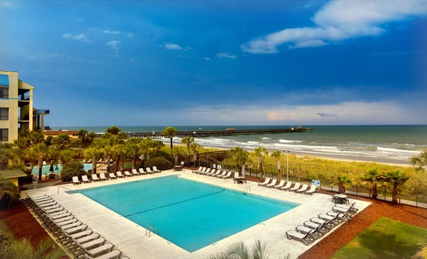 Springmaid Beach Resort - Myrtle Beach, SC: Stay at Springmaid Beach Resort in Myrtle Beach, SC. Dates into September.
