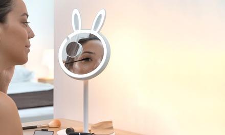 Espejo con lámpara LED