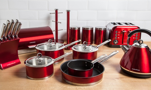Morphy richards kitchen set groupon for Kitchen set groupon