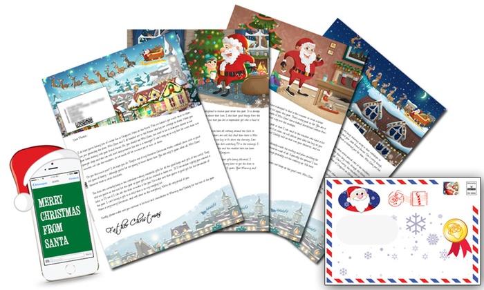 santa letter direct in sydney groupon